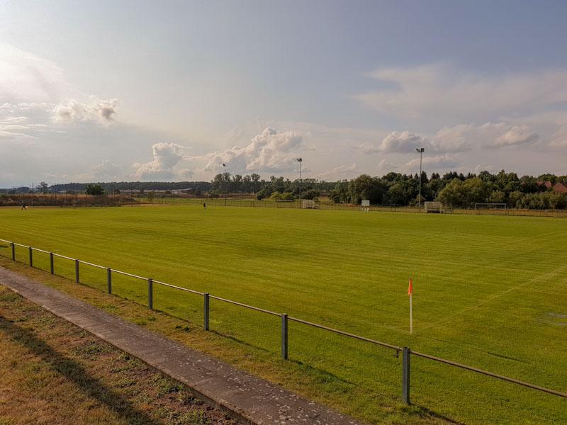 Parkarena Spielfeld