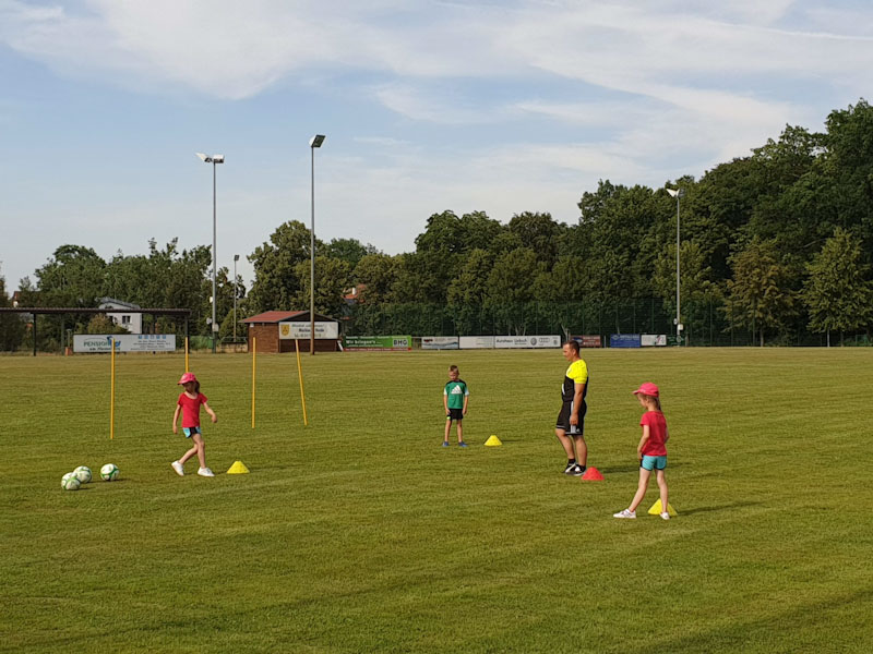 Fussball-Training F-Junioren