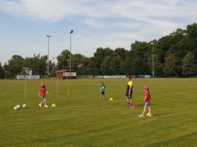 Fussball-Training F-Junioren